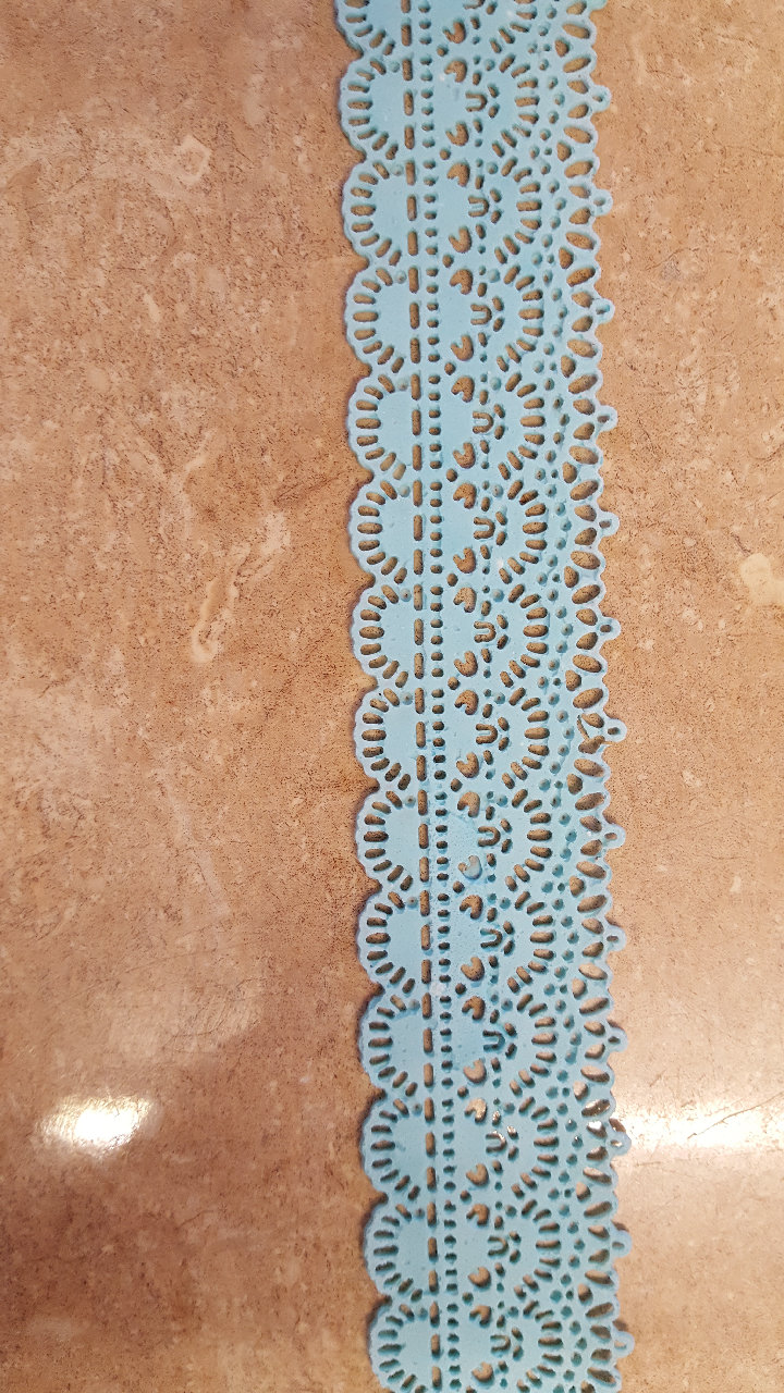 Long loop Edging Lace Ready Made