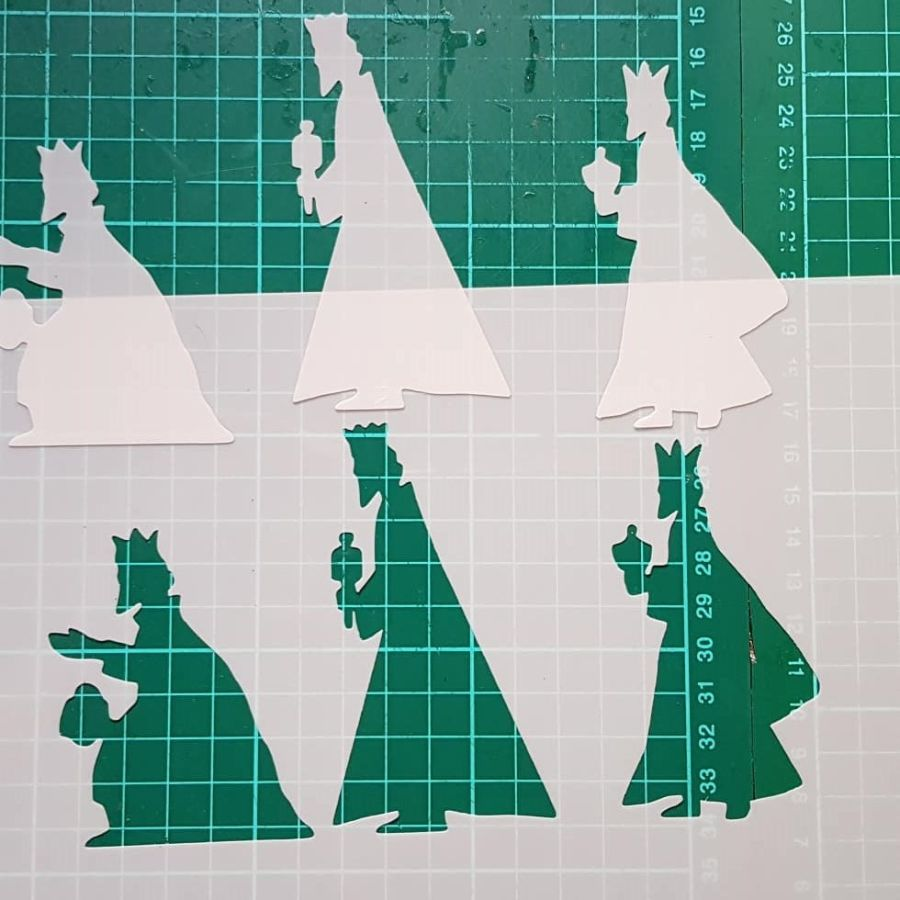 The 3 kings stencil