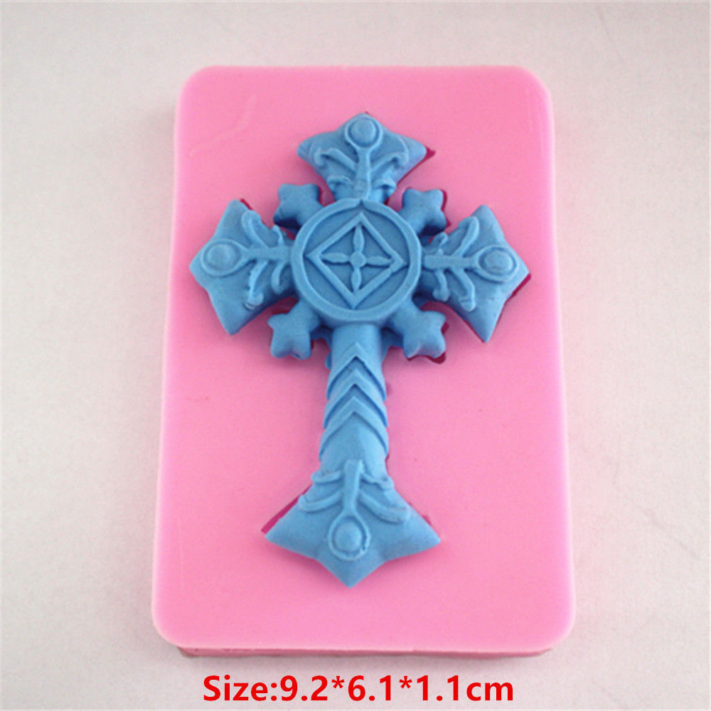 Large Silicone Cross for cake decorating