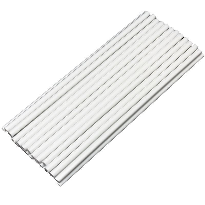 White Plastic Cake Dowels Stirrers Sticks 8 Inch long x 10