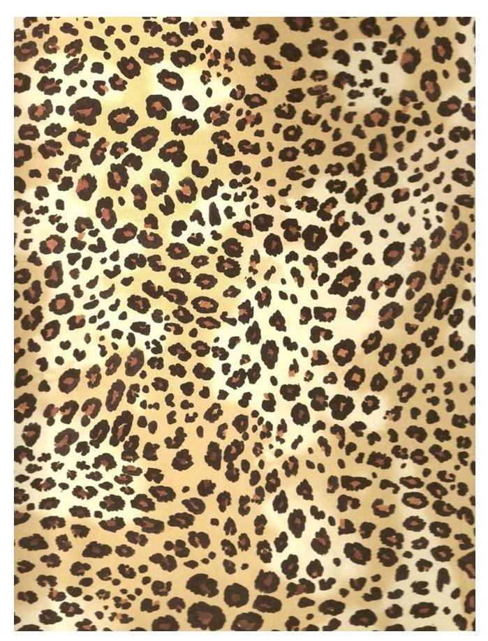 Leopard Print Printed Sugar Icing Sheet