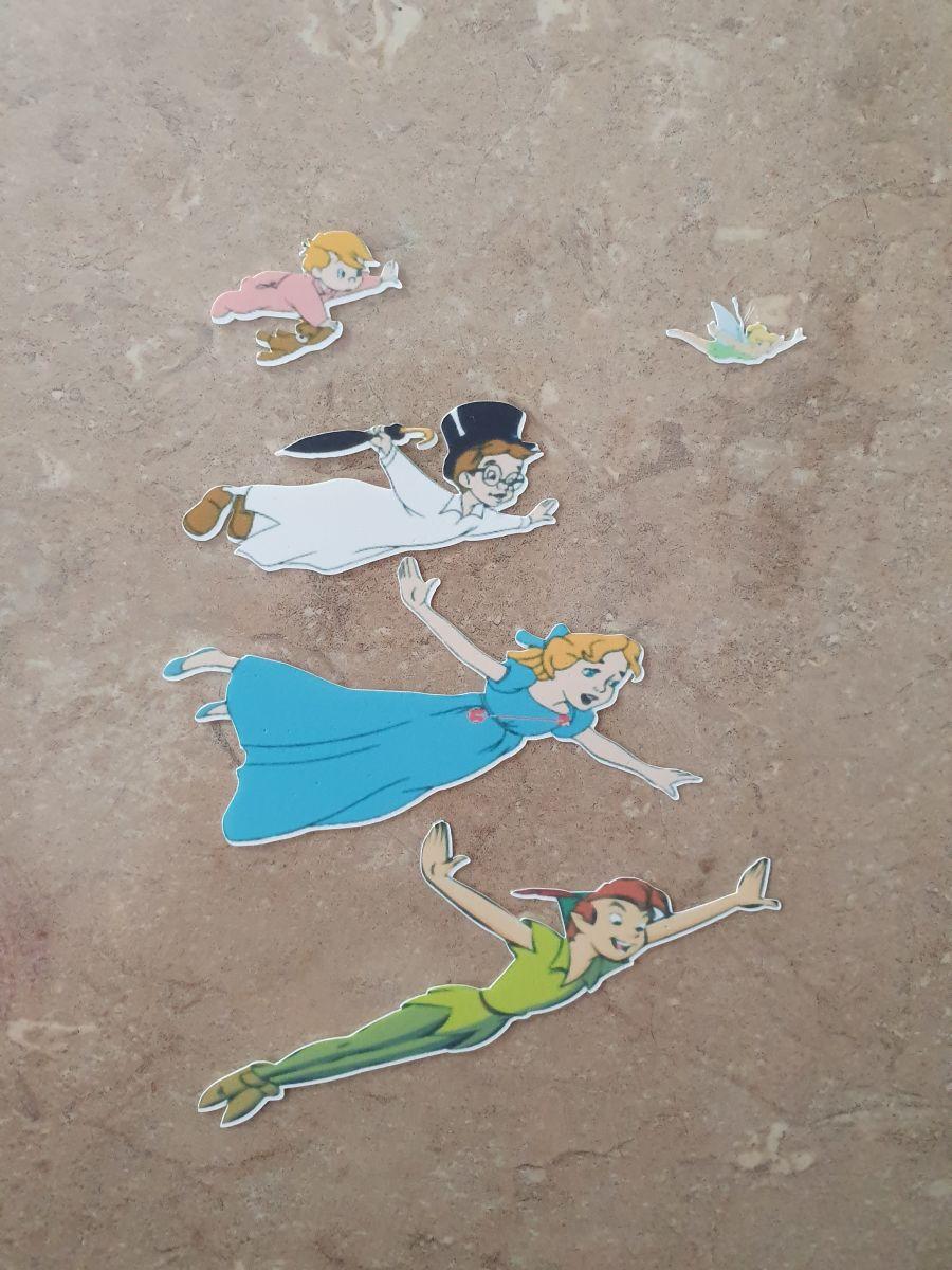 Peter Pan & Friends Flying Sugar Icing Sheet