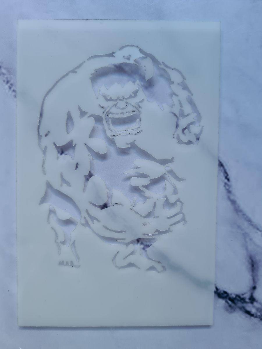 incredible hulk stencil
