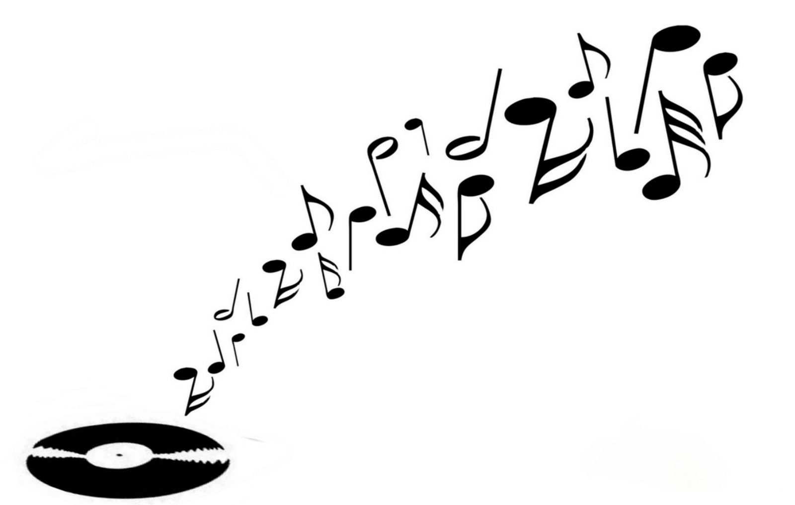 Music Record stencil