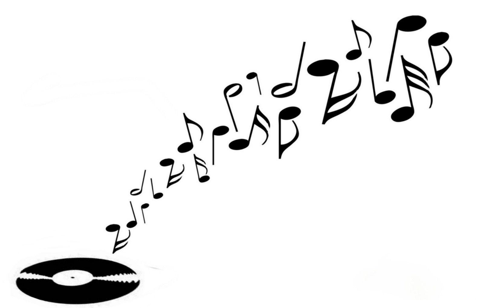 Music Record stencil cake decorating