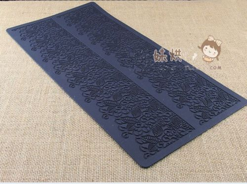 flowing Silicone Lace Fondant Mat Mould
