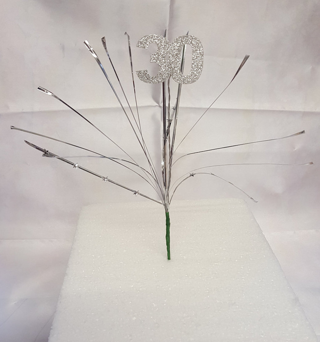 Bear grass with age shooting topper cake topper