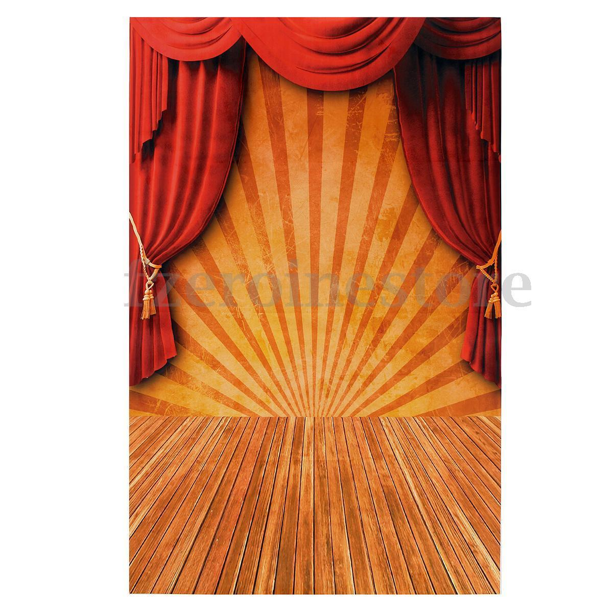 Red Curtain backdrop background photo