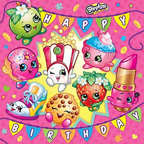 Shopkins cake topper icing or wafer paper
