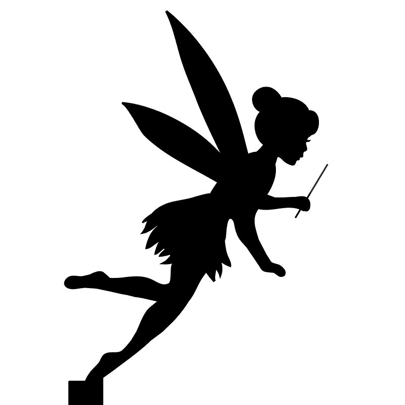 Fairy cake card topper double sided