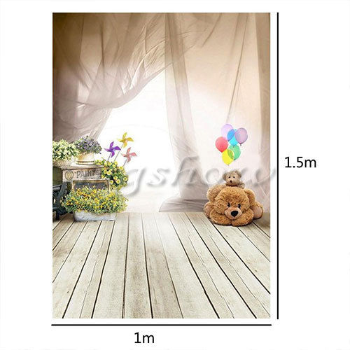 3x5ft bear backdrop photography background