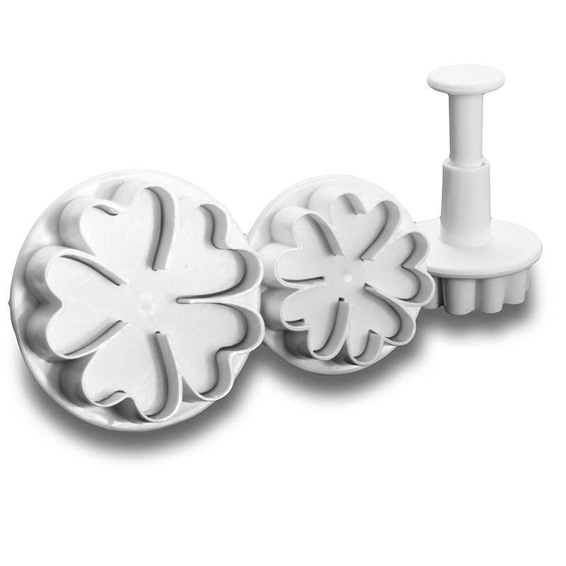 3x Heart flowersFlower Cutter