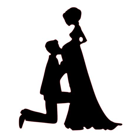 Mr & Mrs Pregnant bride 2 cake card topper