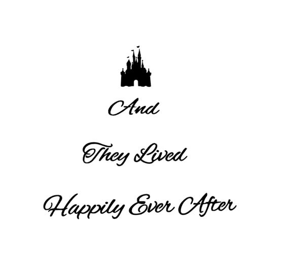 And they lived happily ever after with castle stencil