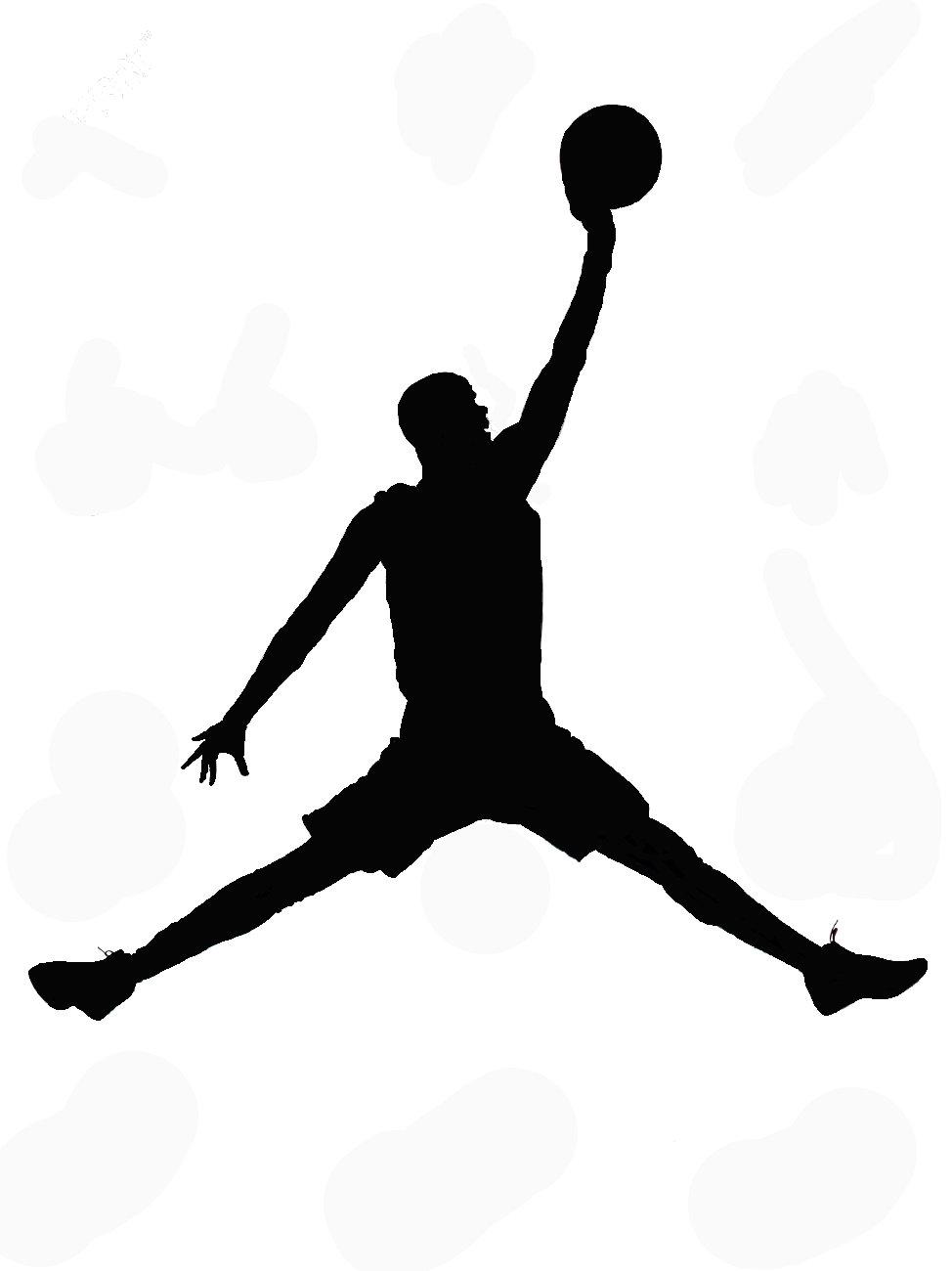 Basket Ball Player sugar silhouette cut out