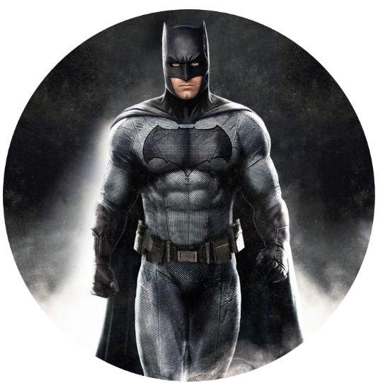 Batman Cake Topper Round Or Square