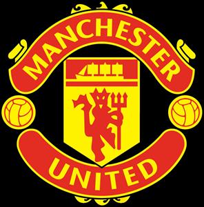 Manchester united logo Cake topper