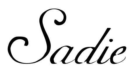scroll handwriting stencil any name