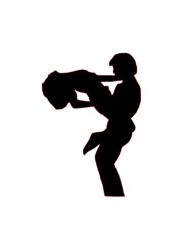 Dirty Dancing sugar silhouette cut outs