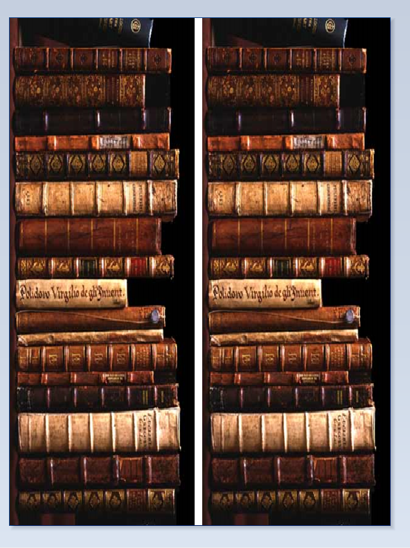 Old books 2 rows A4 old books, icing or sugar sheet