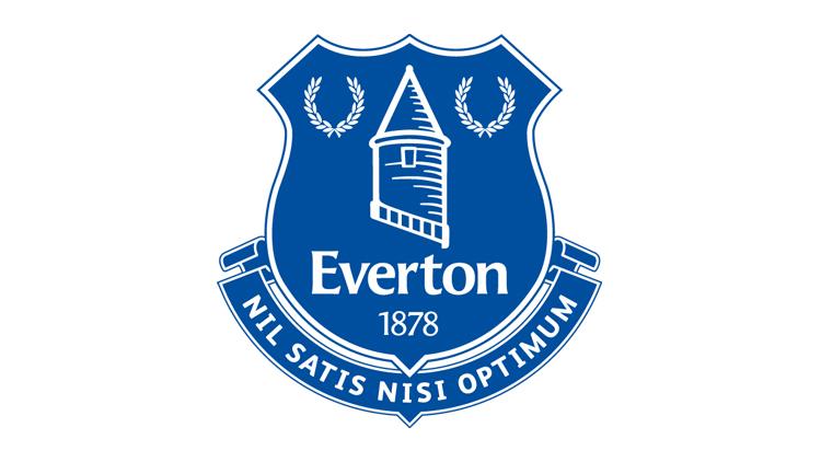 Everton football badge cake topper