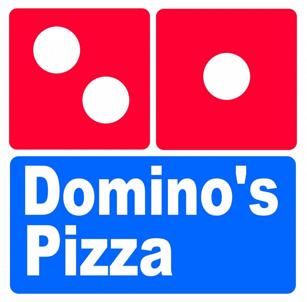 Domino's pizza sign icing or sugar sheet print