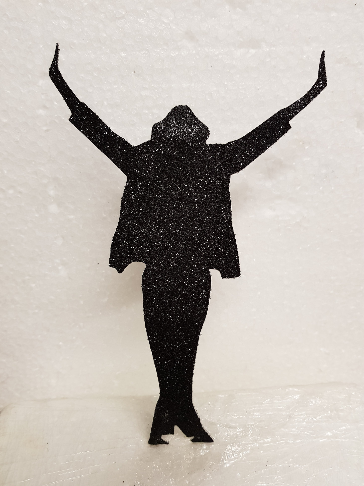 Michael Jackson cake card topper