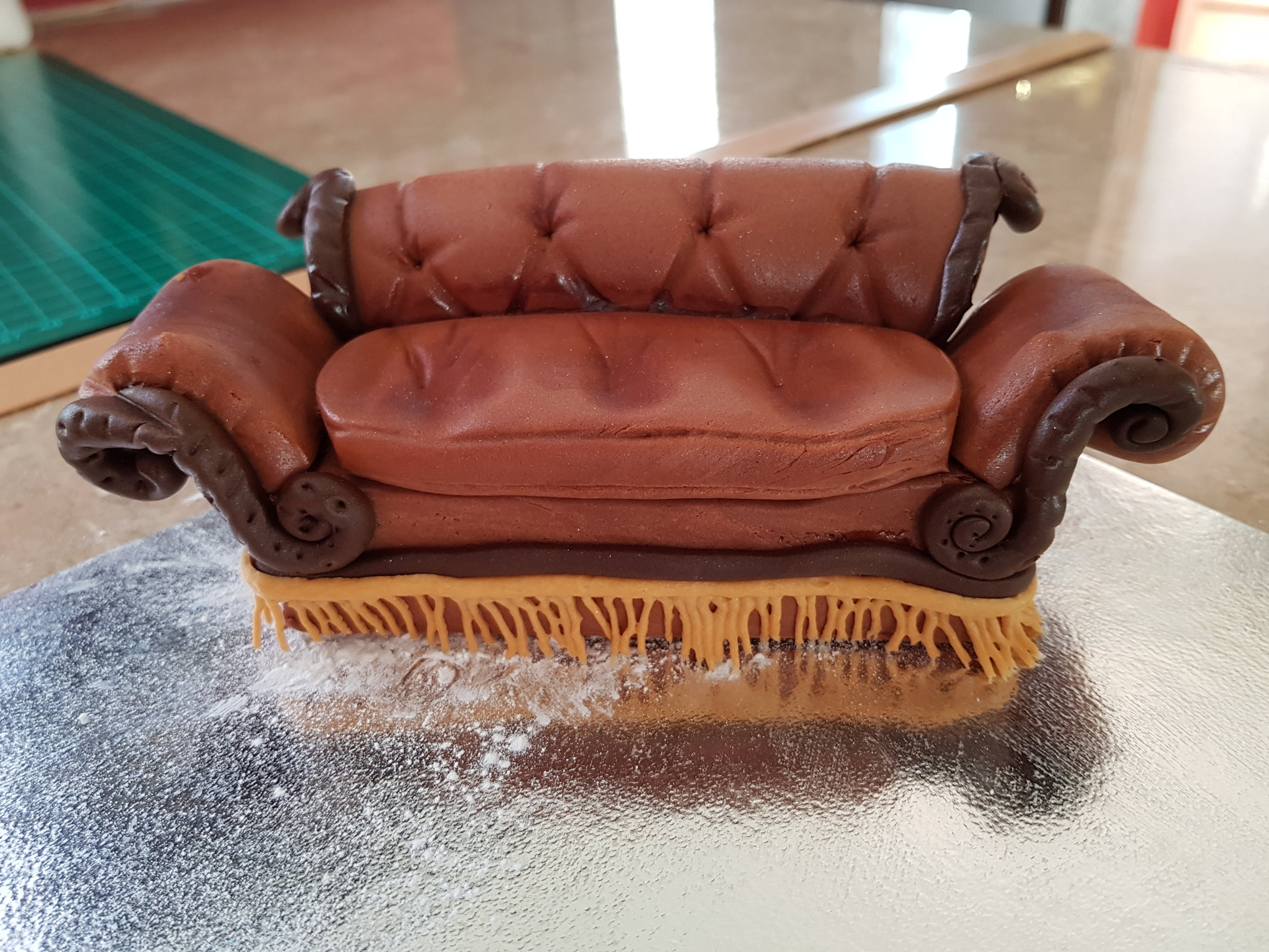 Sofa From Friends Tv Show Cake Topper