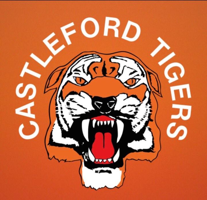 Castleford tigers logo Cake topper