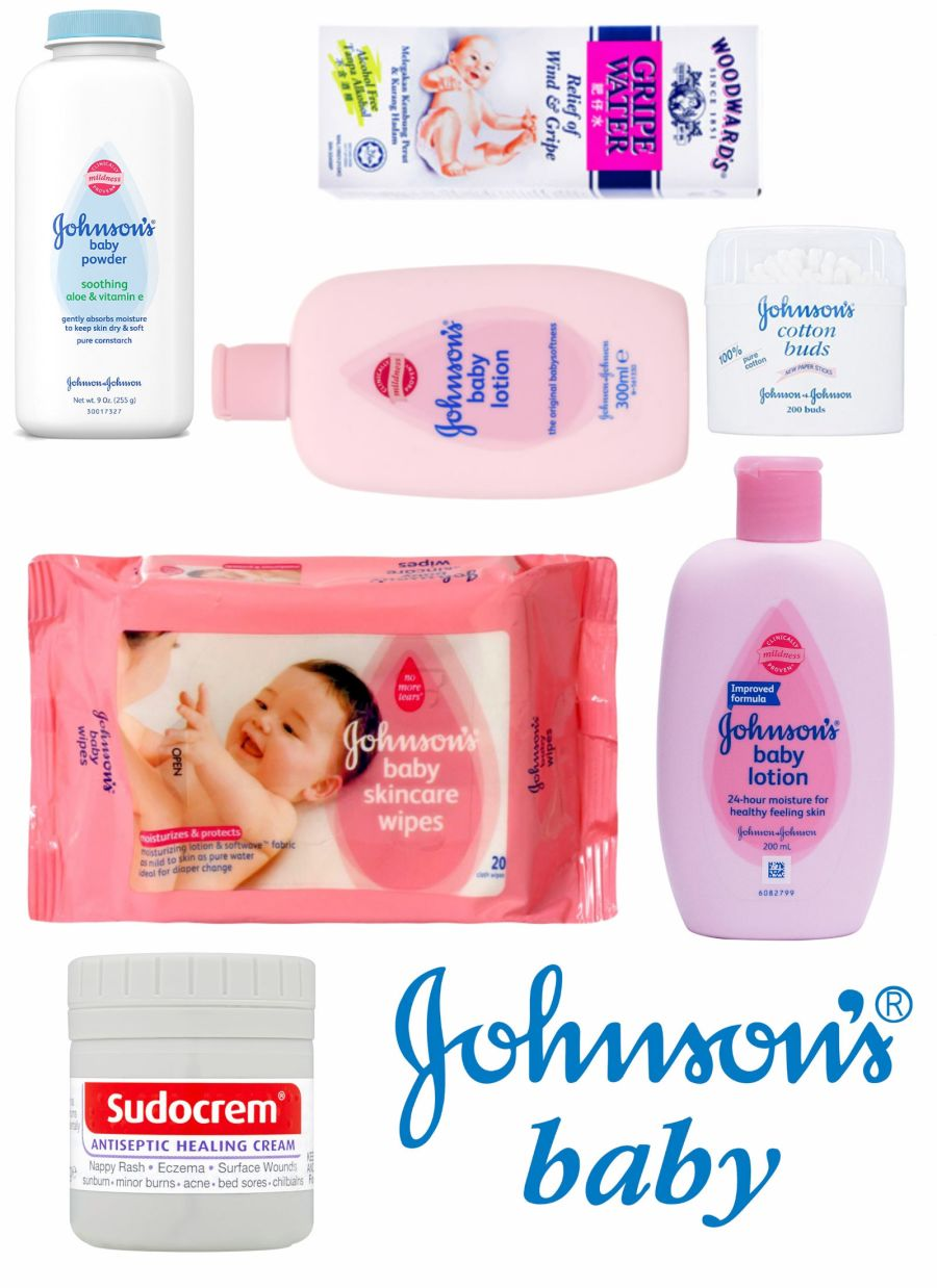 Edible Johnson s Baby Products  A4 sheet
