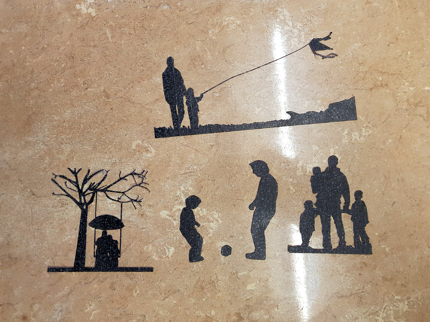 dad, granddad 4 tier sugar silhouette cut outs