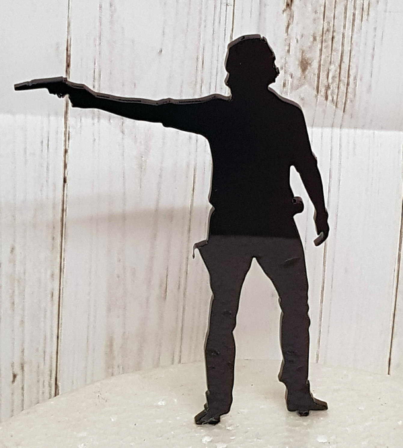 Rick from the walking dead acrylic cake topper