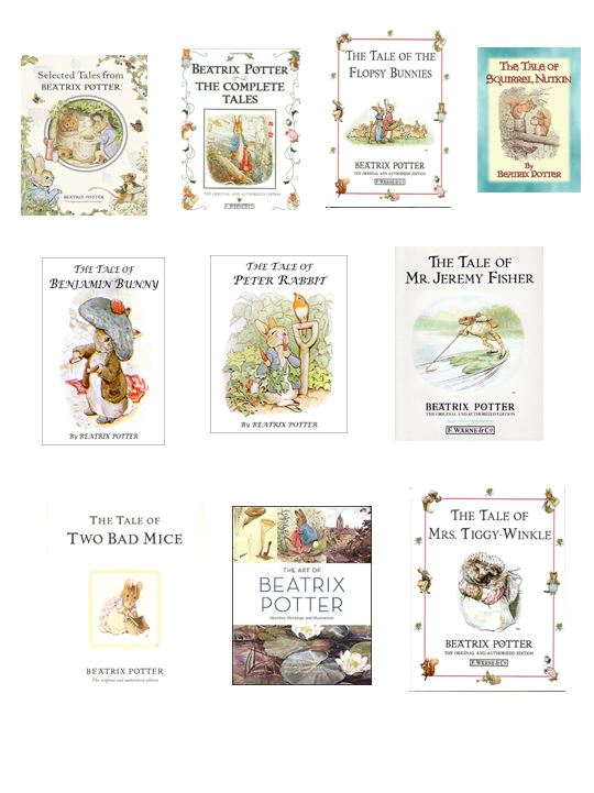 Beatrix potter book covers wafer paper or Icing Sheet