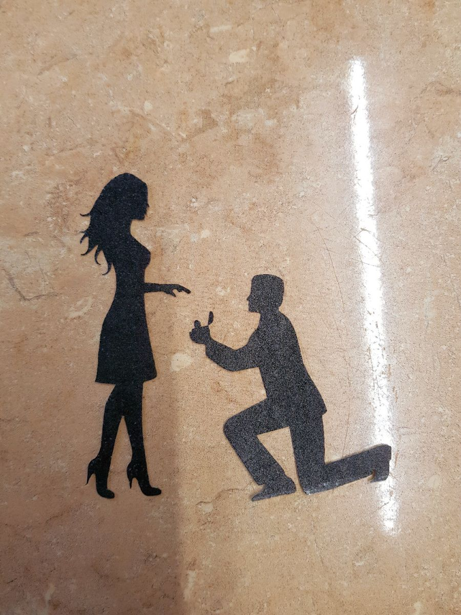 Proposal 2 sugar silhouette cut outs