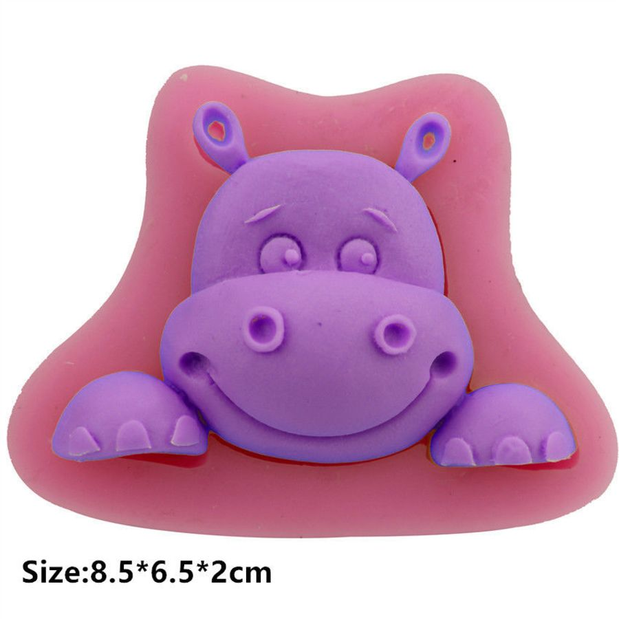 Hippo Baby Silicone Cake Mould