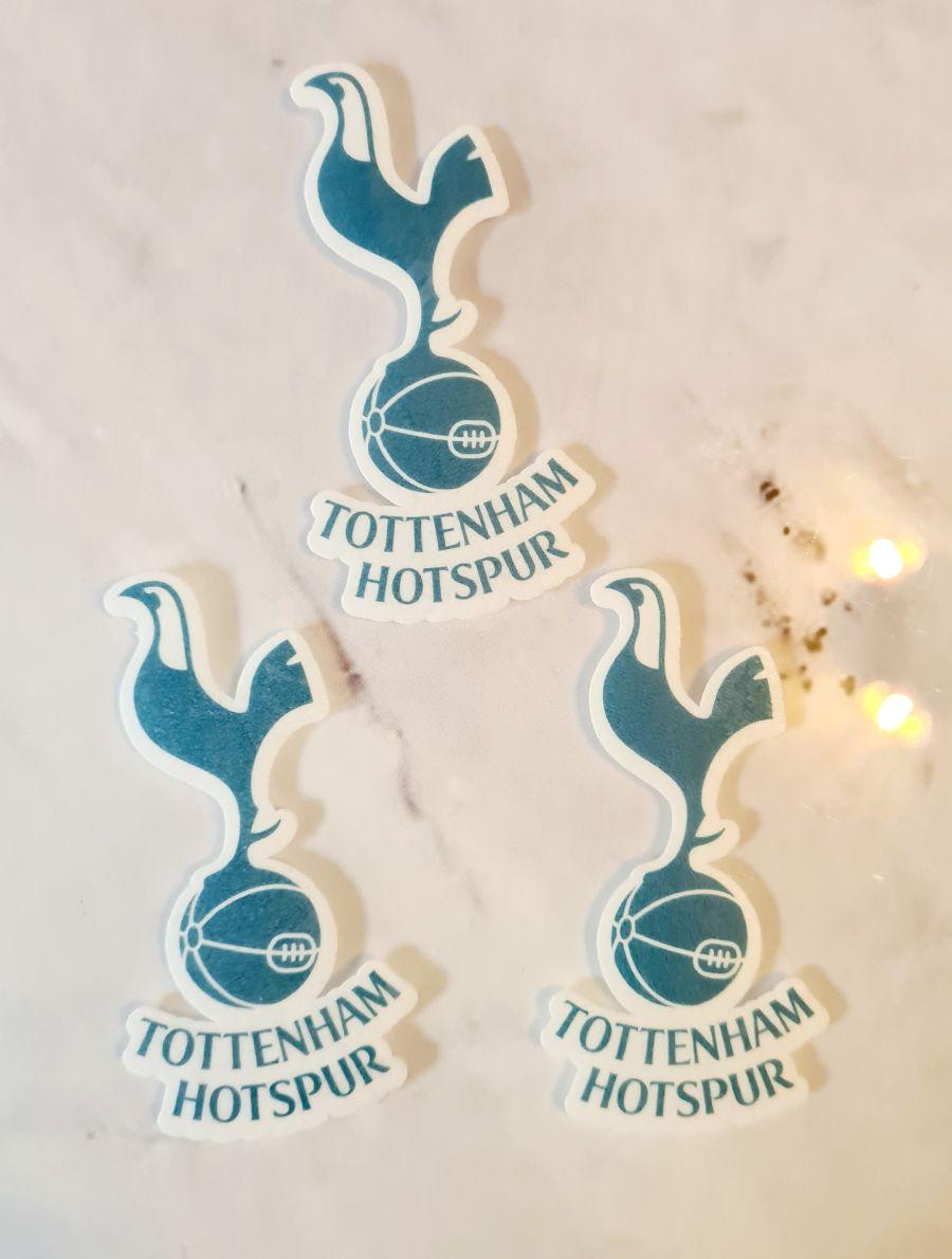 Tottenham Hotspur logo icing sheet or sugar sheet