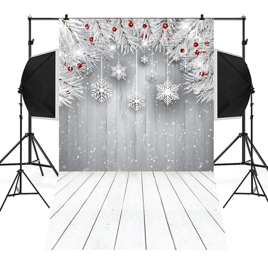 Christmas Vinyl 3x5FT Winter Snow flake Xmas Backdrop