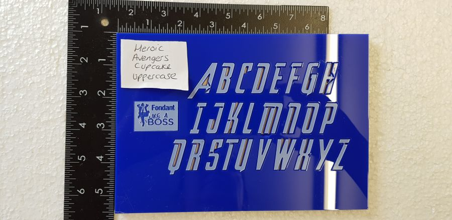 Heroic Avengers Alphabet Stamps