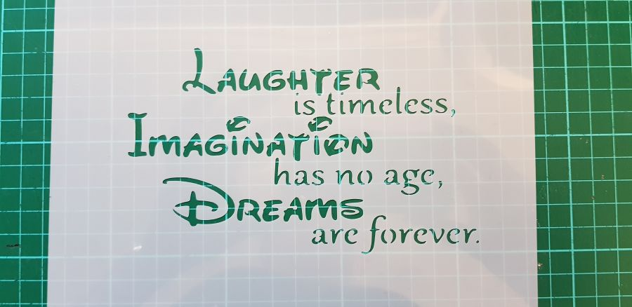 laughter is timeless quote many sizes