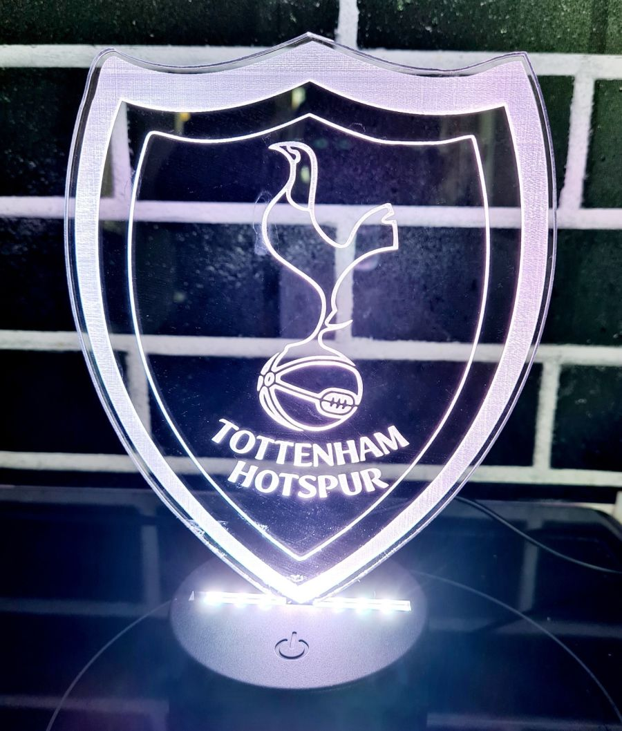 Tottenham Hotspur F.C light up lamp night light