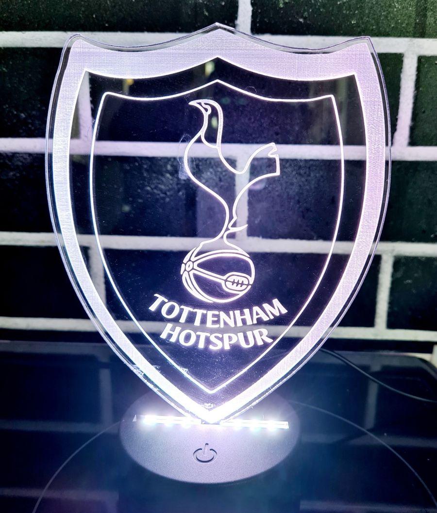 Tottenham Hotspur F.C light up lamp night light