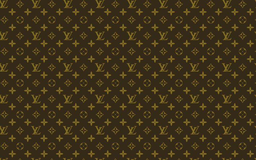 Louis Vuitton black printed sheet for bags and cake covering