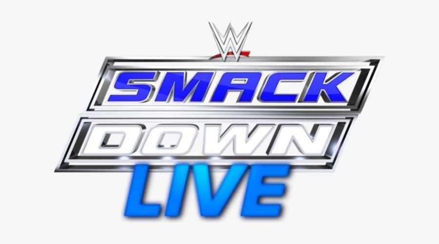 smackdown logo Cake topper icing or wafer sheet