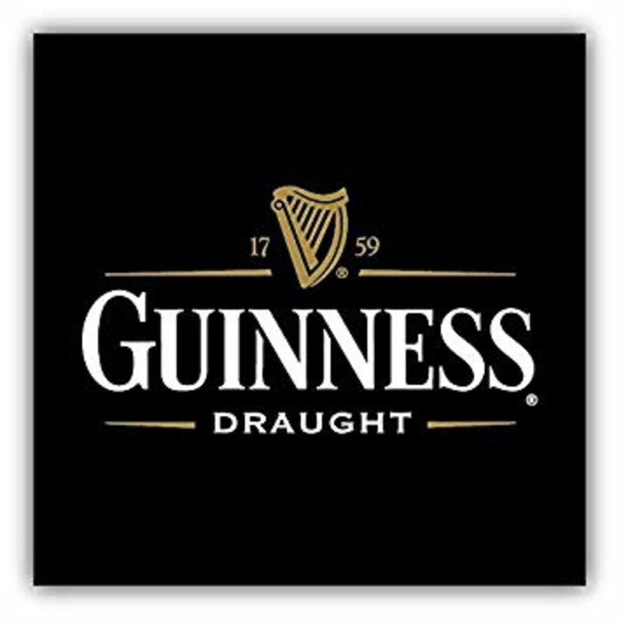 Guinness logo Cake topper icing or wafer sheet