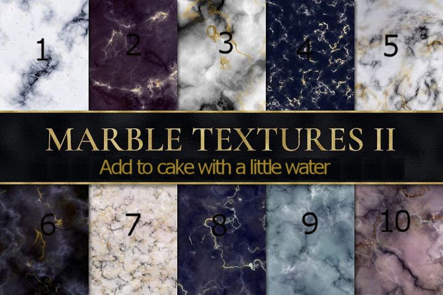 Marble Textures sheets icing or wafer paper sheet A4 size