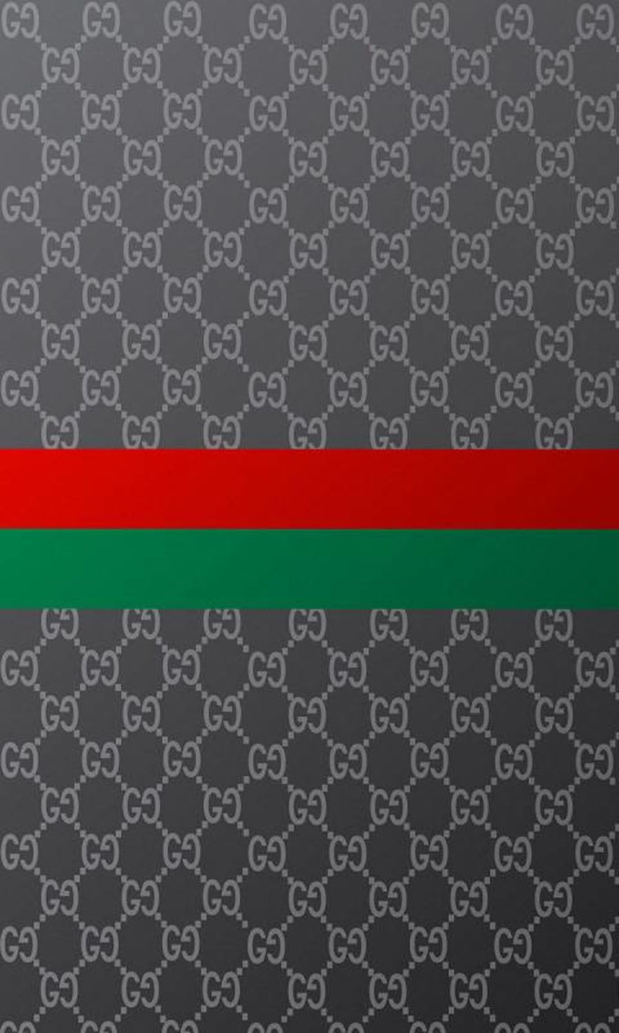 Gucci print red stripe and grey icing sheet or wafer sheet