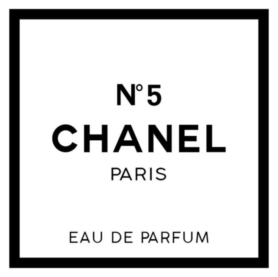 Chanel logo black border Cake topper icing or wafer sheet
