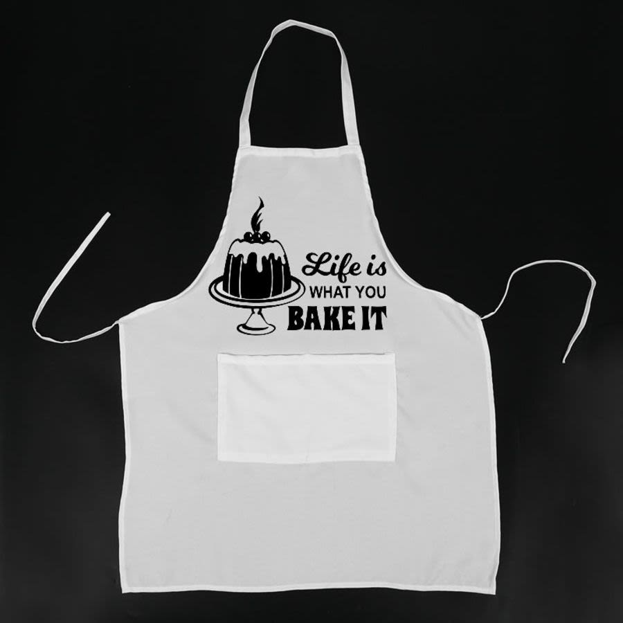Life is what you bake it Pinny, Apron, Pinafore