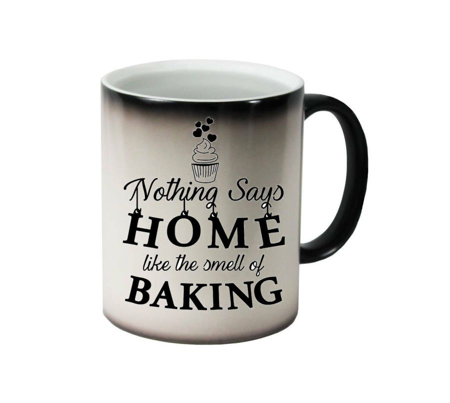 Nothing says home like the smell of baking ceramic colour changing Cups