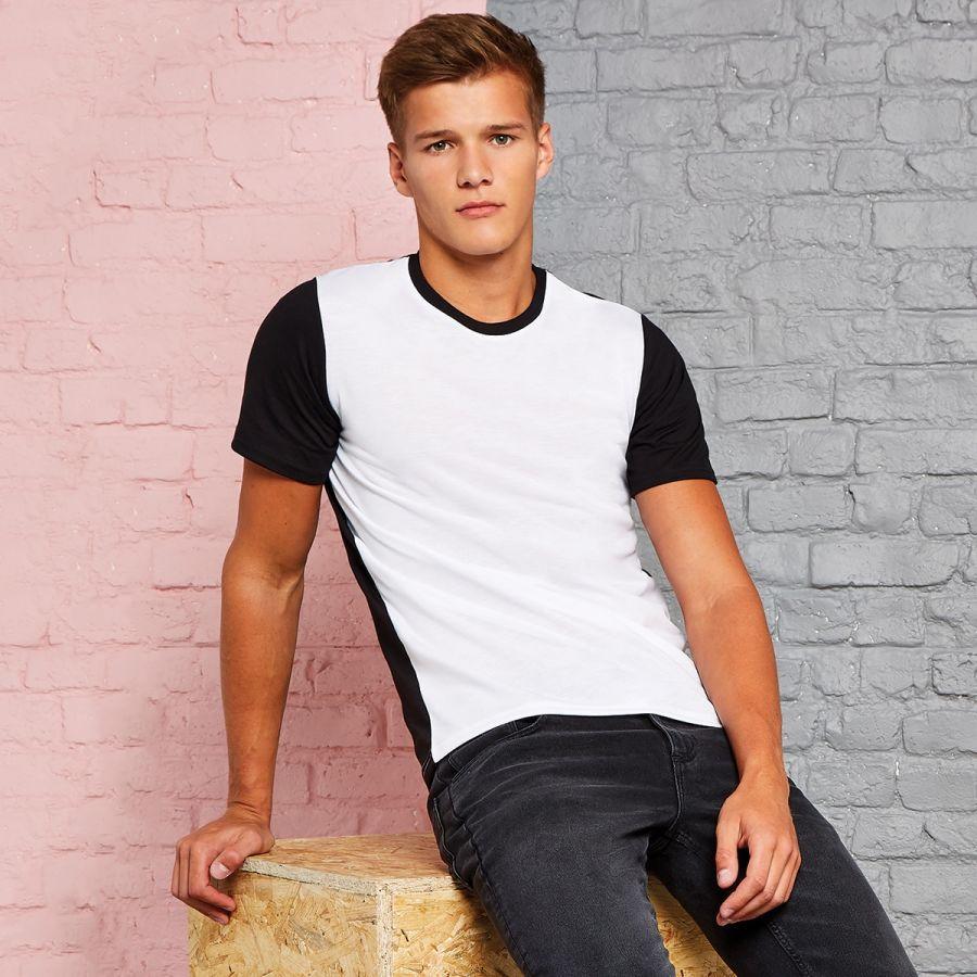 Mens design your own Vanilla White T-Shirt, logo or wording